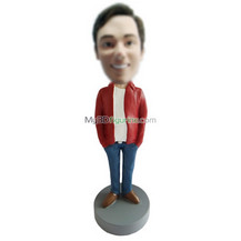 Personalized custom casual bobblehead doll