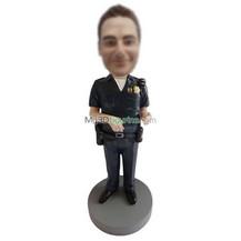 custom police bobble heads