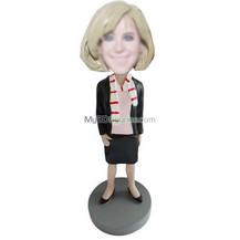custom office lady bobbleheads