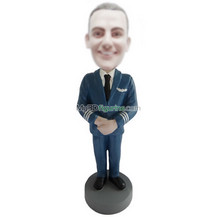Personalized custom Air force bobbleheads