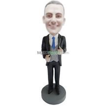 custom suit man bobble heads