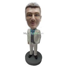 custom suit man bobble head
