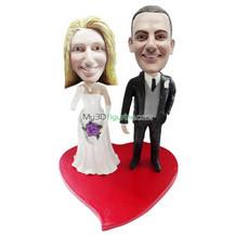 Personalized custom wedding bobblehead