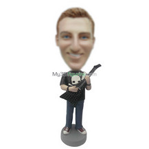 custom man and bass bobble head