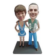 Customized couple bobblehead doll