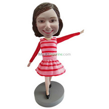 custom cute girl bobblehead