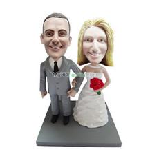Customized wedding bobblehead