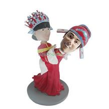 Customized wedding bobblehead doll