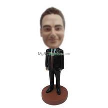 Bobbleheads custom black suit man