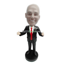 Bobbleheads custom black suit man