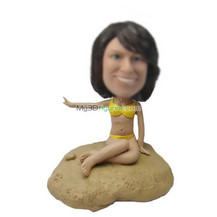 custom Bikini Girl bobble head