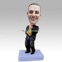 Personalized custom sax bobbleheads