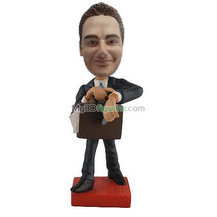 Bobbleheads custom busy man