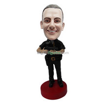 Personalized custom police bobblehead