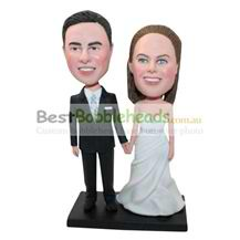 custom newlyweds bobbleheads best gift for newlyweds