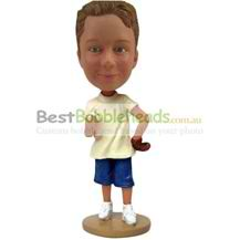 custom the boy hands the fork wear a waist bobbleheads