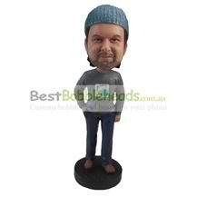 custom the gray man bobbleheads