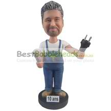 custom the man in overalls bobbleheads