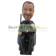 custom the man sits in a chair bobbleheads