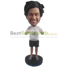 custom the white man is in gestures bobbleheads