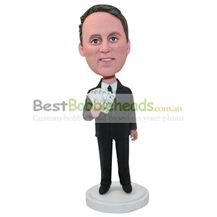 customized millionaire with money in hand bobbleheads