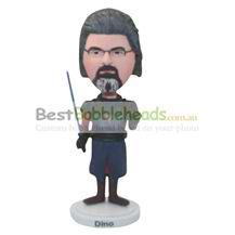 personalized ancient swordsman bobbleheads