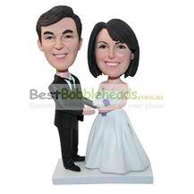 personalized custom bobbleheads for wedding