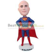 personalized custom superman bobblehead funny gift