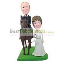 personalized custom sweet wedding bobbleheads