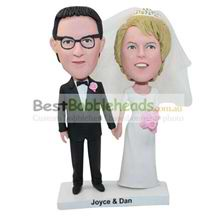 personalized custom wedding cake topper bobbleheads