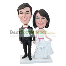 personalized custom wedding figurines bobbleheads