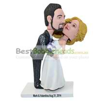 personalized the bride and the bridegroom bobblehead
