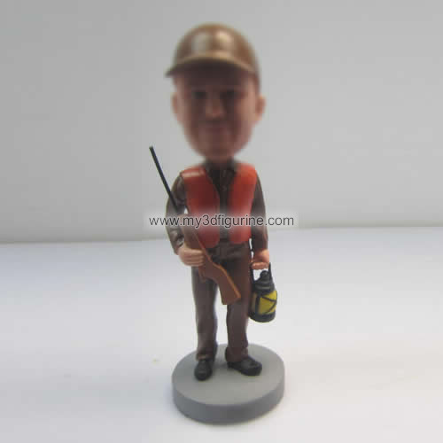 Hunter custom bobbleheads
